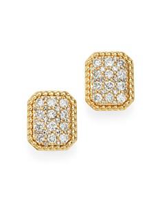 Bloomingdale's - Cluster Diamond Earrings in 14K Yellow Gold, 0.50 - 100% Exclusive