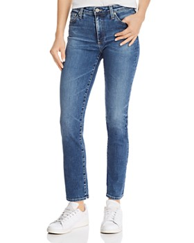 AG - Mari Straight-Leg Jeans in 12 Years Fluid