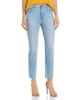 a84e5bf4769bb9 AG - Isabelle High-Rise Jeans in 26 Years Sanguine ...