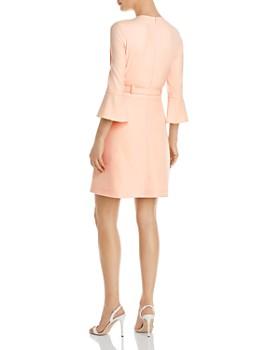Shoshanna - Odila Belted Crepe Dress