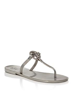 Tory Burch - Women's Mini Miller Jelly Flat Thong Sandals