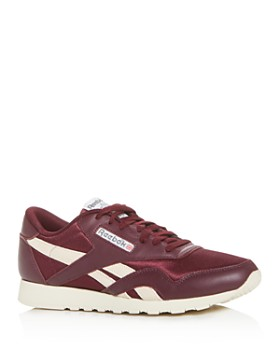 Reebok - Men's Classic Nylon MU Low-Top Sneakers