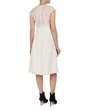 ba&sh - Prima Lace-Bodice Midi Dress