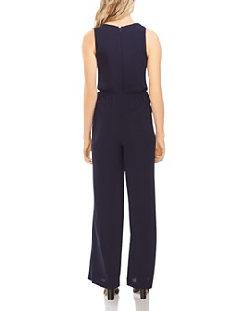 VINCE CAMUTO - Sleeveless Tie-Front Jumpsuit