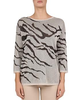 0c2d6c44b Gerard Darel - Janela Zebra-Print Sweater ...