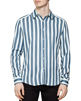 917aa88f2 REISS - Kawl Stripe Slim Fit Shirt ...