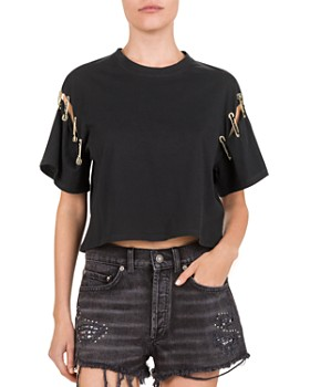 86fe0d6a7f2 The Kooples Women's Tops: Graphic Tees, T-Shirts & More - Bloomingdale's