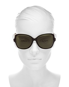 Dior - Women's Montaigne Oversized Butterly Sunglasses, 57mm