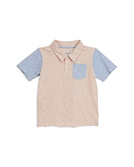 Sovereign Code - Boys' Amels Striped Color-Block Polo Shirt - Little Kid, Big Kid