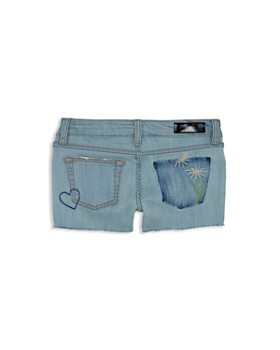 ag Adriano Goldschmied Kids - Girls' Distressed Denim Shorts - Big Kid