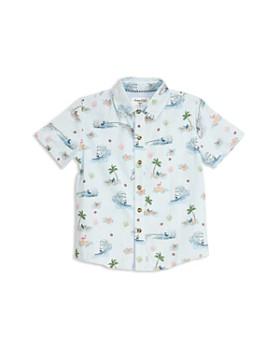 Sovereign Code - Boys' Deluxe Beach Camp Shirt - Little Kid, Big Kid