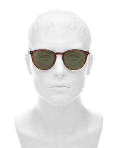 Persol - Men's Round Sunglasses, 52mm