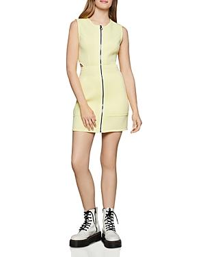 Bcbgeneration Zip-Front Scuba Dress