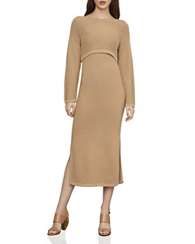 c44fa1b18c0b BCBGMAXAZRIA - Two-Piece Midi Sweater Dress ...
