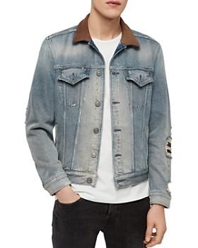 ALLSAINTS - Iren Distressed Denim Jacket