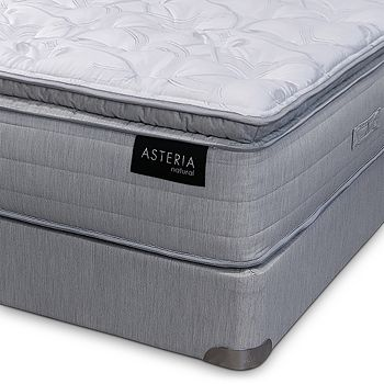 Asteria - Beth Extra Firm California King Mattress & Split Box Spring Set - 100% Exclusive