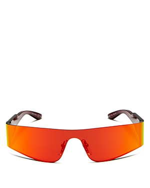 Balenciaga Unisex Wraparound Shield Sunglasses, 185mm-Jewelry & Accessories