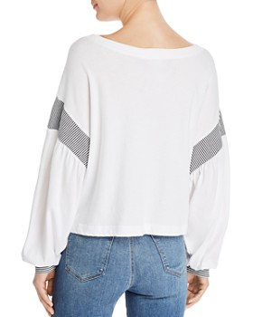 Current/Elliott - The Two-Step Knit Top