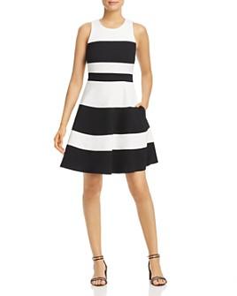 kate spade new york - Striped Ponte Dress