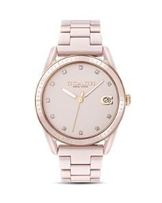 COACH - Preston Pavé-Detail Watch, 36mm