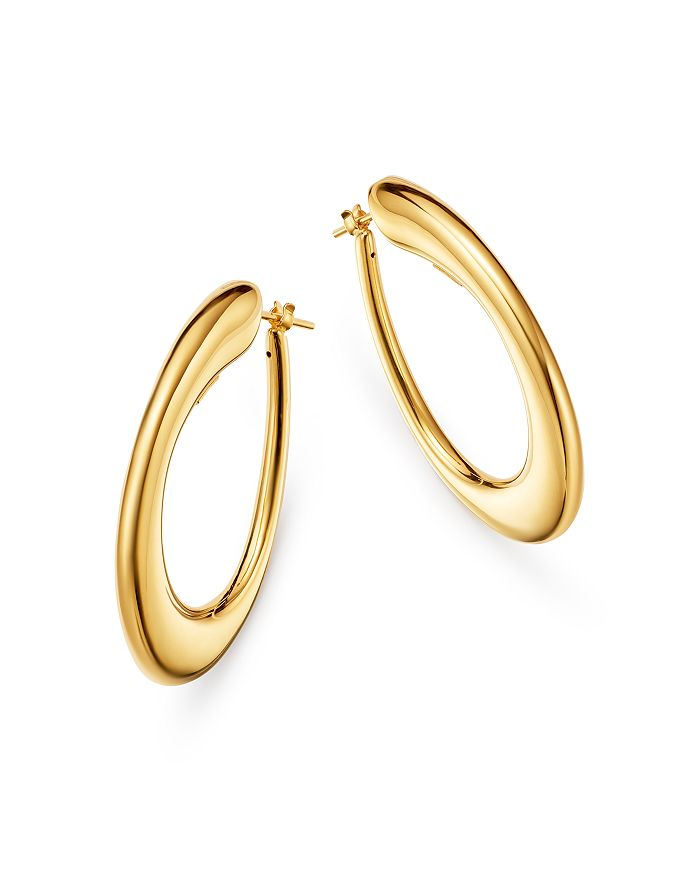 Roberto Coin - 18K Yellow Gold Oro Hoop Earrings