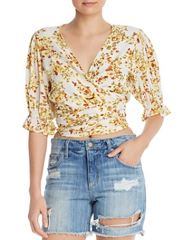 Faithfull the Brand - Mali Wrap Crop Top