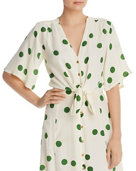 Faithfull the Brand - Boulevards Polka Dot Top