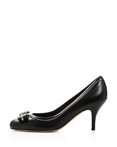 Salvatore Ferragamo - Women's Carla Leather High-Heel Pumps