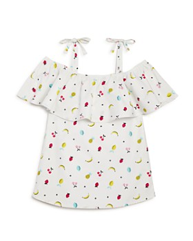 Mini Series - Girls' Fruit Ruffle Top, Little Kid - 100% Exclusive