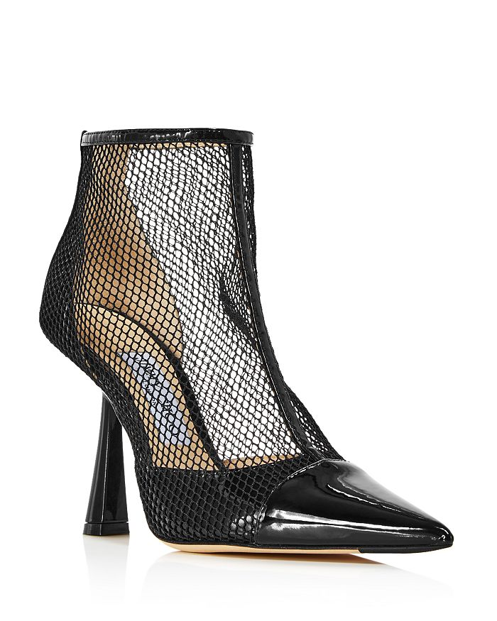 Jimmy Choo - Women's Kix Netting High-Heel Booties