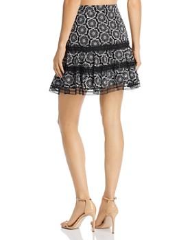 Bardot - Sierra Embroidered Ruffle Skirt