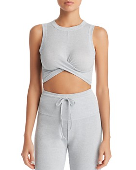 Beach Riot - Riot Metallic Cropped Top