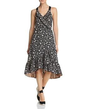 Scotch & Soda - Floral-Print Ruffle Dress