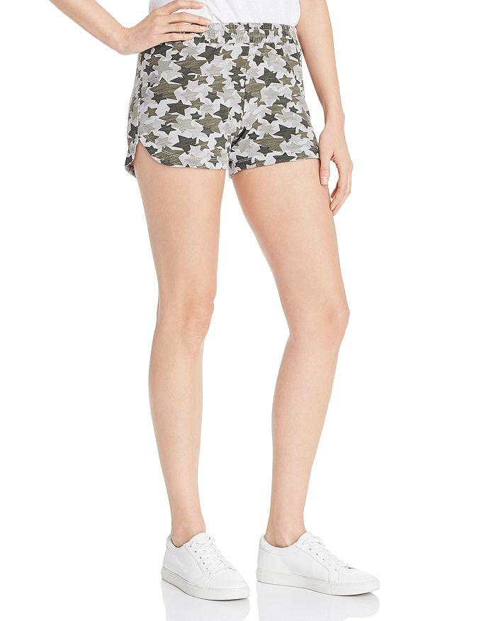 Monrow - Star Camo Shorts