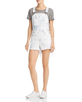d78f6c818f6 Hudson - Denim Shortalls in Clouded Marble - 100% Exclusive ...