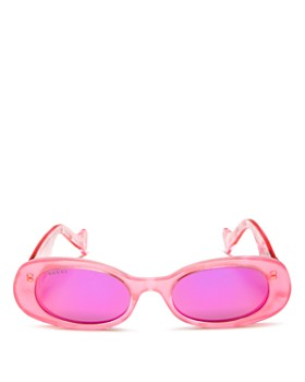aaa36085648a Gucci - Women's Mirrored Oval Sunglasses, ...