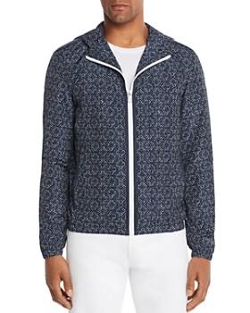 Michael Kors - Tile-Print Anorak Jacket