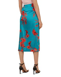 Ted Baker - Lilyyy Fantasia-Print Wrap Skirt