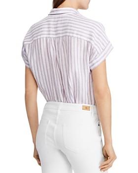 Ralph Lauren - Striped Popover Top