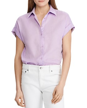 90d5b284b00fb9 Purple Women's Tops: Graphic Tees, T-Shirts & More - Bloomingdale's