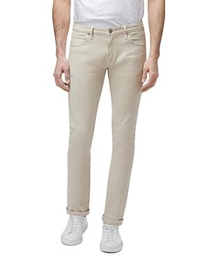 J Brand Jeans MICK TAPERED SKINNY FIT JEANS IN SANDSTENDO