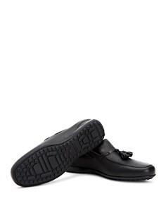 Aquatalia - Men's Richard Pebbled Leather Loafers