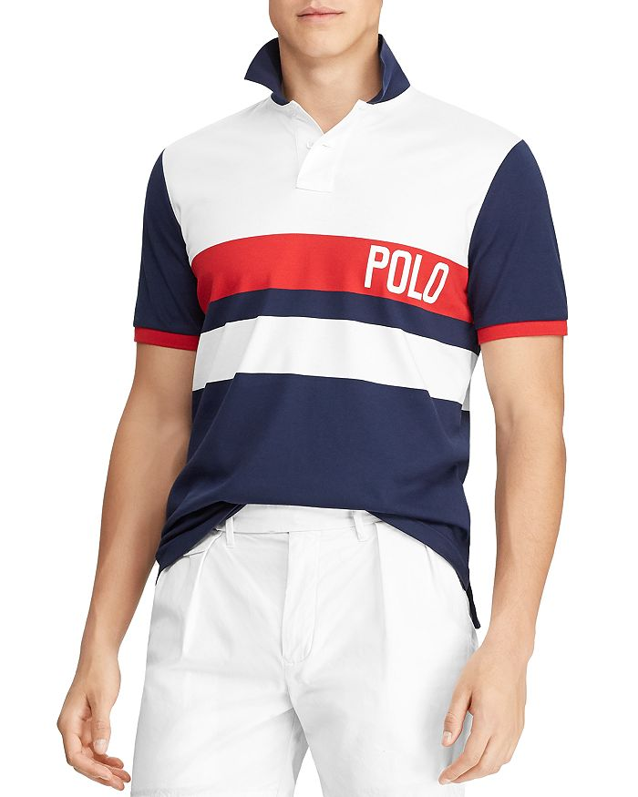 Polo Ralph Lauren - Striped Custom Slim Fit Polo Shirt