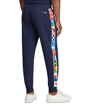 Polo Ralph Lauren - Flag-Striped Fleece Track Pants