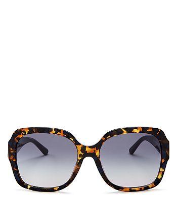 Tory Burch - Women's Square Sunglasses, 57mm