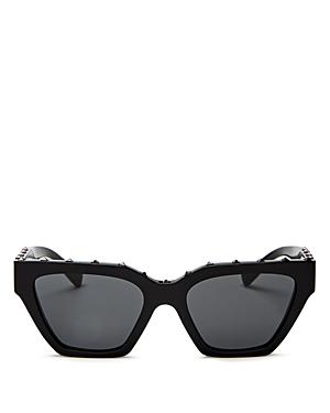 Valentino Sunglasses WOMEN'S ROCKSTUD CAT EYE SUNGLASSES, 53MM
