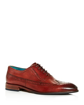Ted Baker - Men's Asonce Leather Brogue Wingtip Oxfords