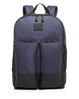Cole Haan - Sawyer Heathered Nylon Zip Top Backpack