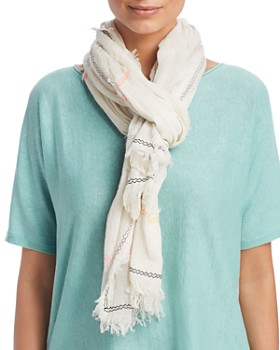 Eileen Fisher - Geometric Embroidered Scarf