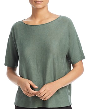 Eileen Fisher - Short-Sleeve Sweater